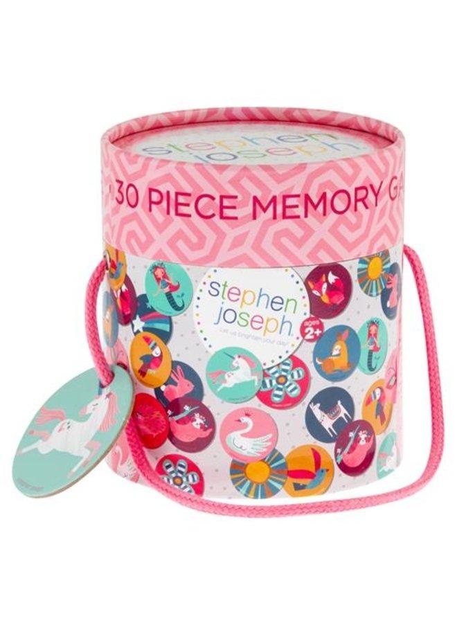 30 Piece Memory Game Set - Girl