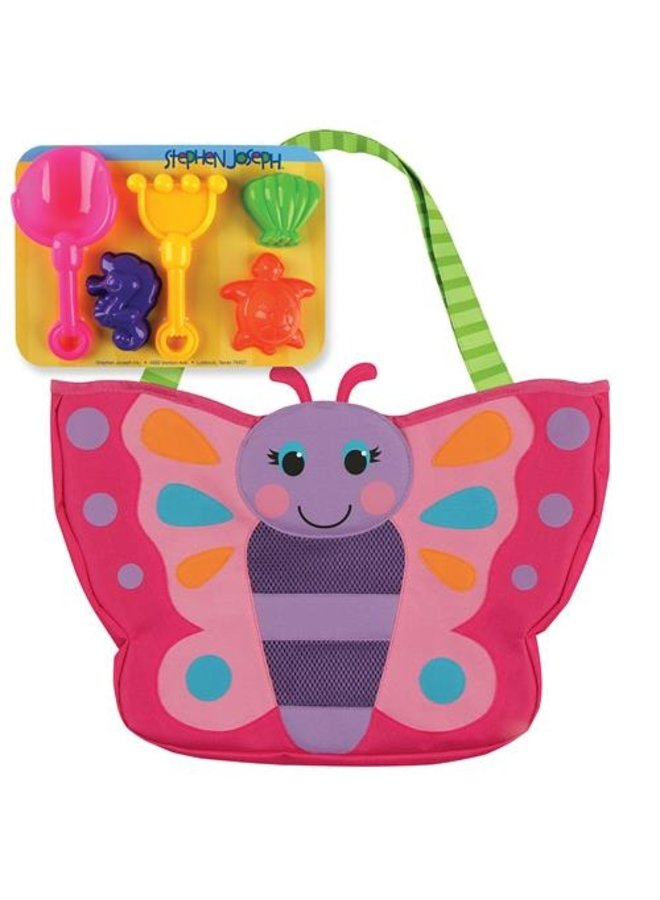 Beach Totes With Sand Toy Play Set-
