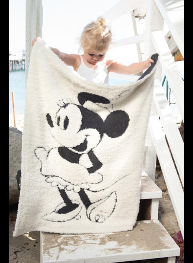 Cozychic Vintage Disney Minnie Mouse Baby Blanket