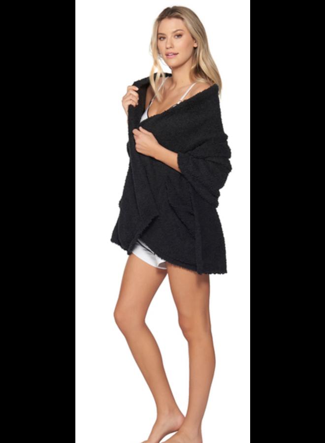 Cozy Chic Travel Shawl - Black