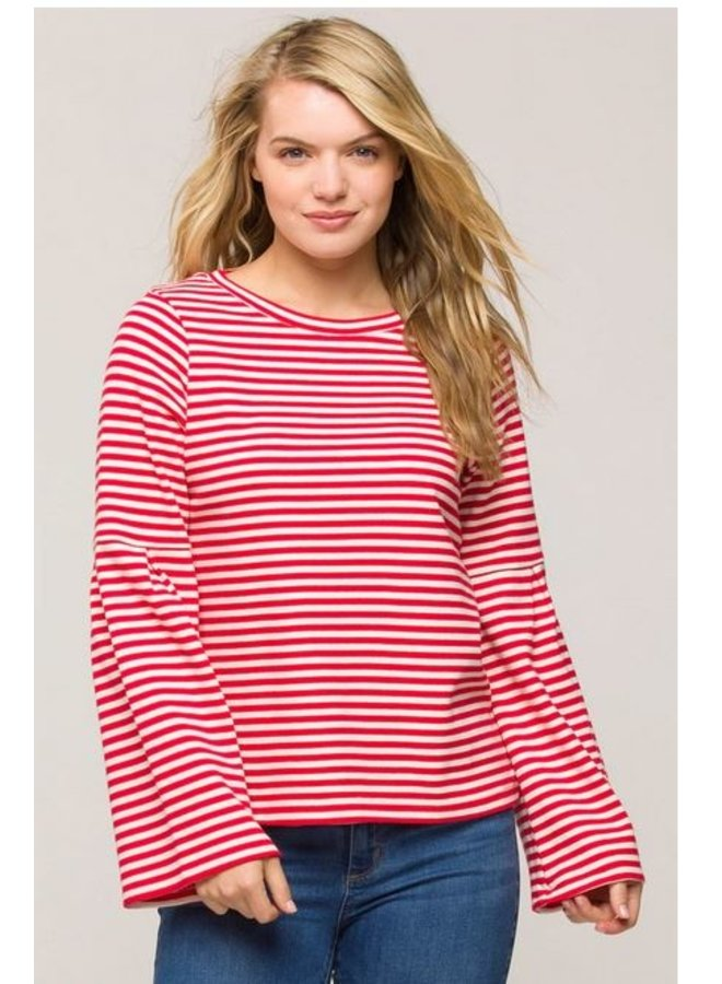 Carolyn Stripe Top