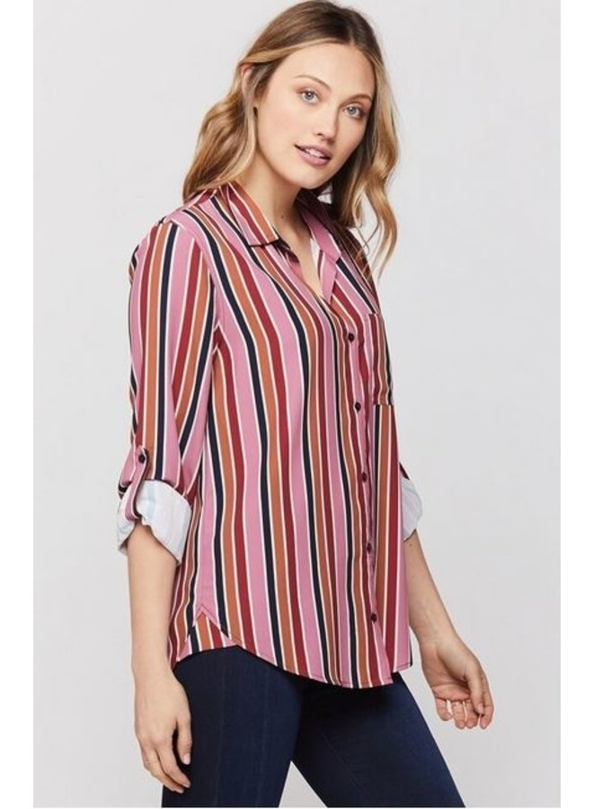 Eliza Buttondown Blouse