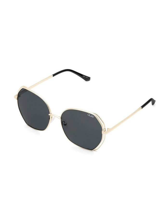 Big Love Sunglasses-Gold/Smoke