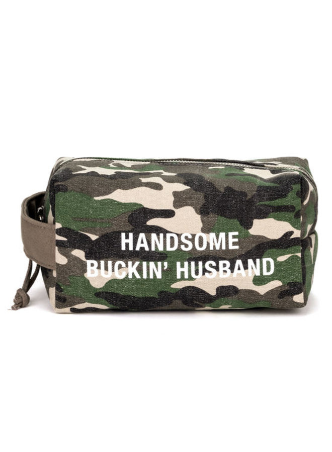 Hansome Buckin Husband Dopp Kit