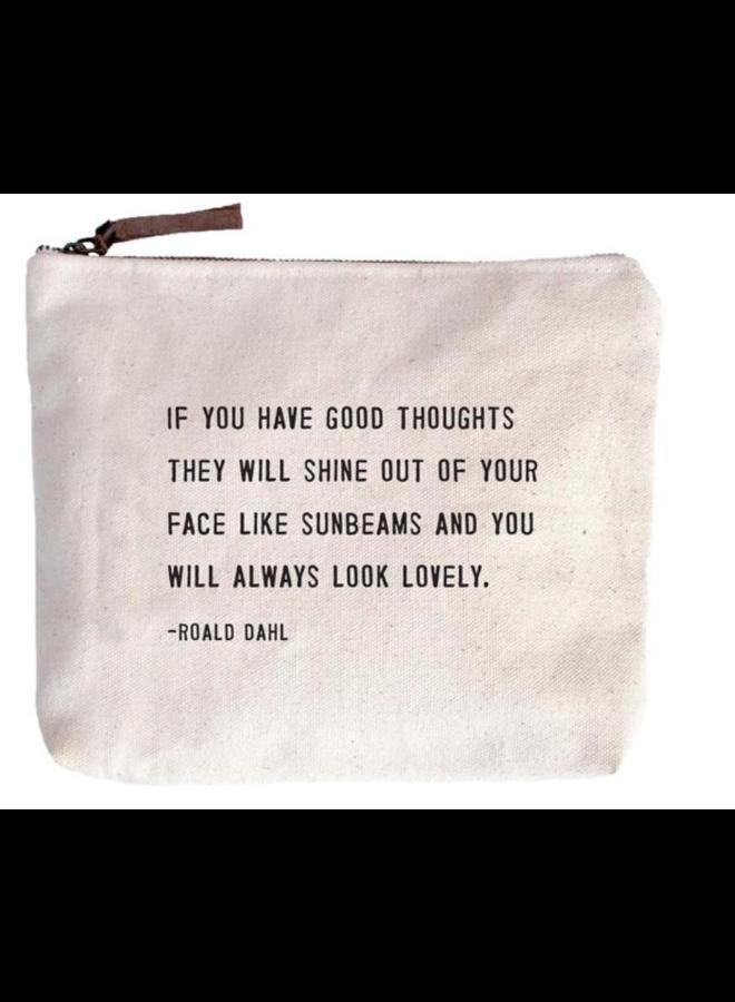 Always Look Lovely Canvas Bag