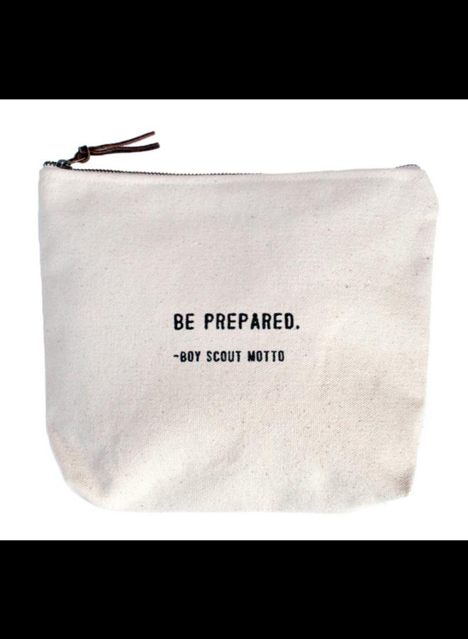 Be Prepared Canvas Bag