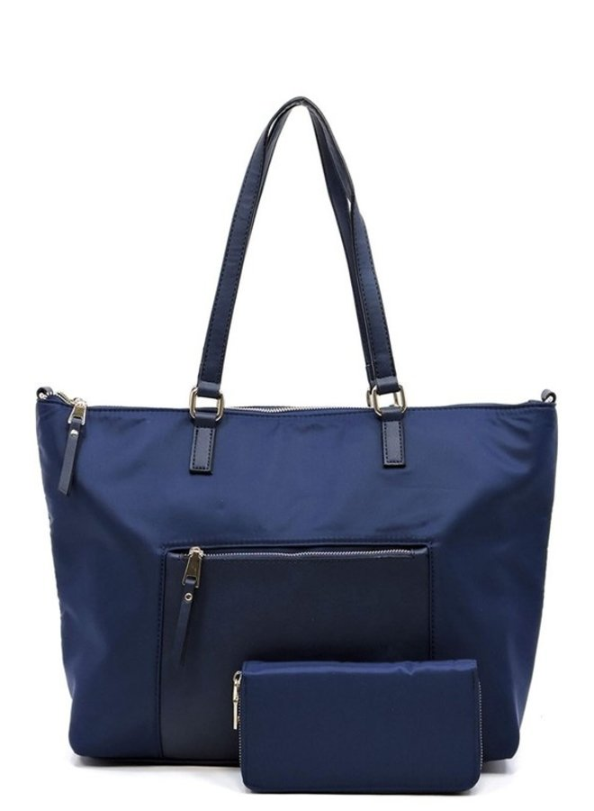 On The Go Nylon Tote