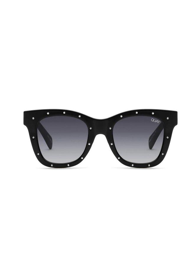 After Hours Sunglasses-Black/Smoke