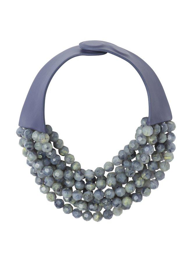Bella Mystic Violet Necklace