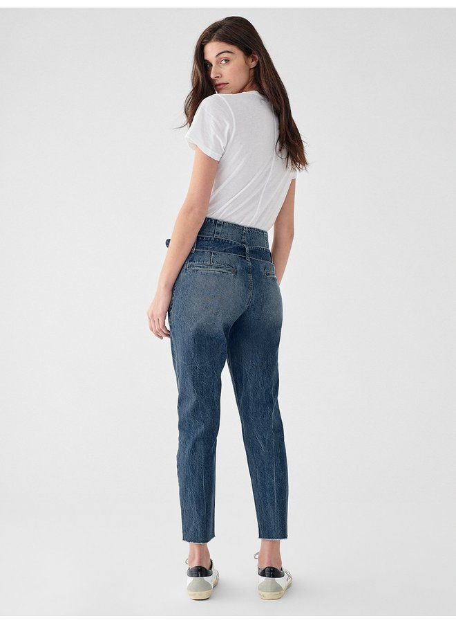 Susie Paperbag High Rise Tapered - Aderdeen