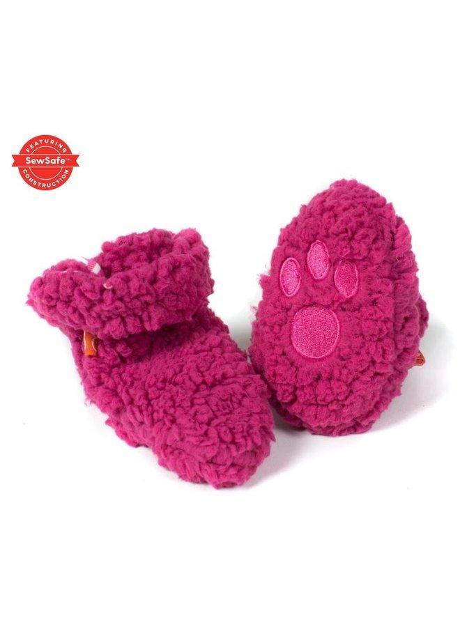 Magnetic Bears Fleece Booties -