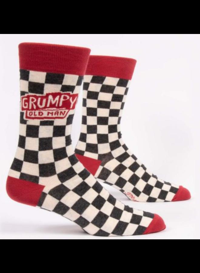 Men's Socks - Grumpy Old Man