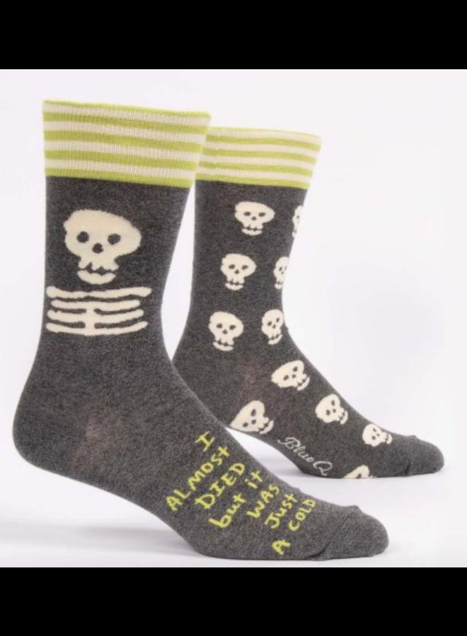 Men's Socks - I Almost Died