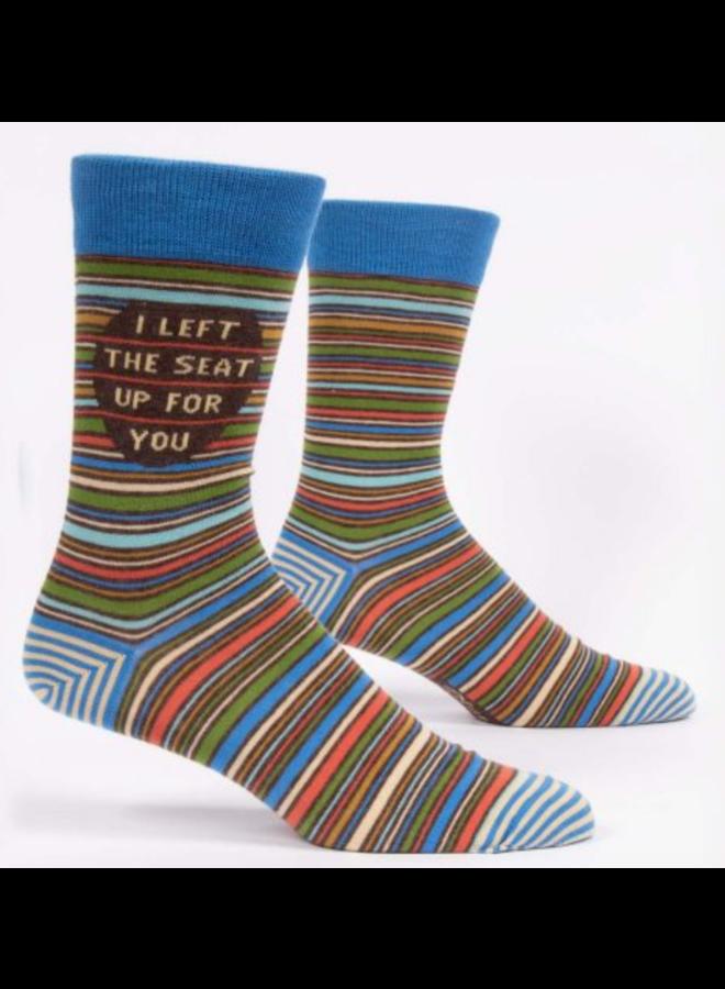 Men's Socks - I Left The Seat Up