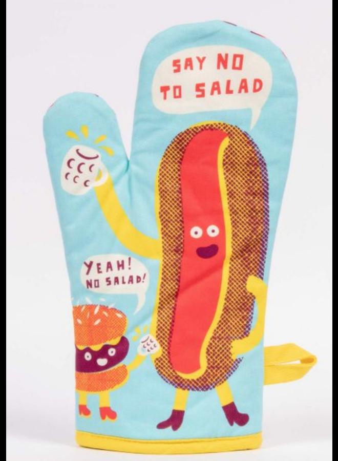 Say No To Salad Oven Mitt