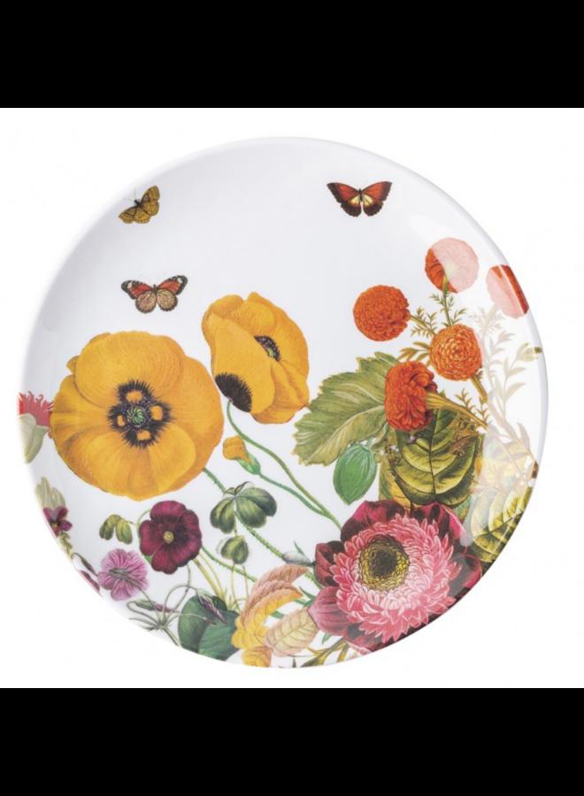 Field Of Flowers Melamine Dessert/Salad Plate