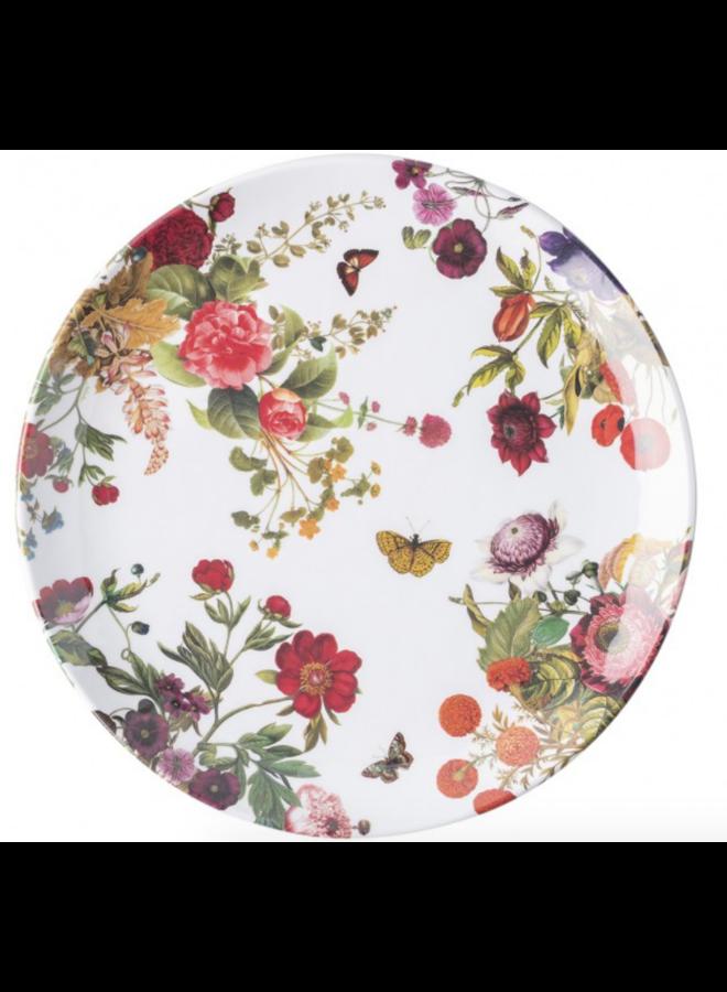 Field Of Flowers Melamine Dinner Plate