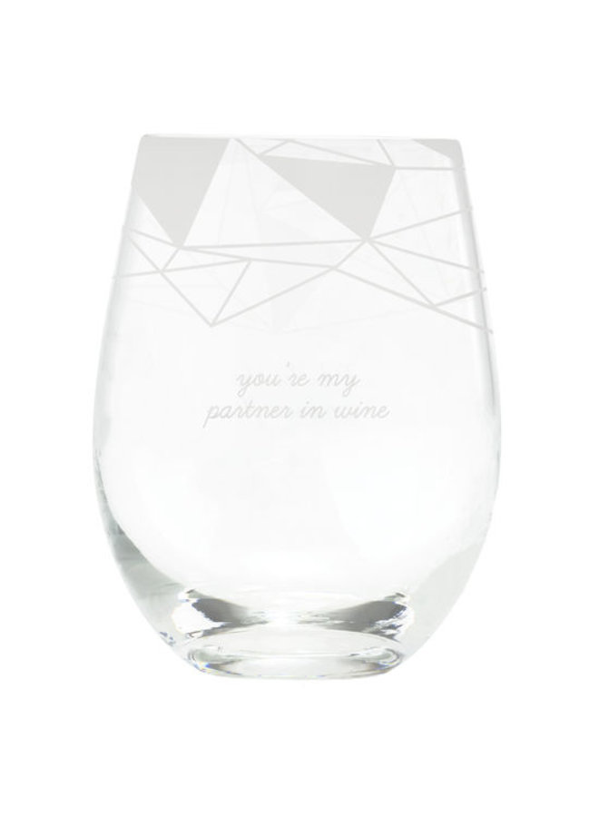 My Partner Wine Glass