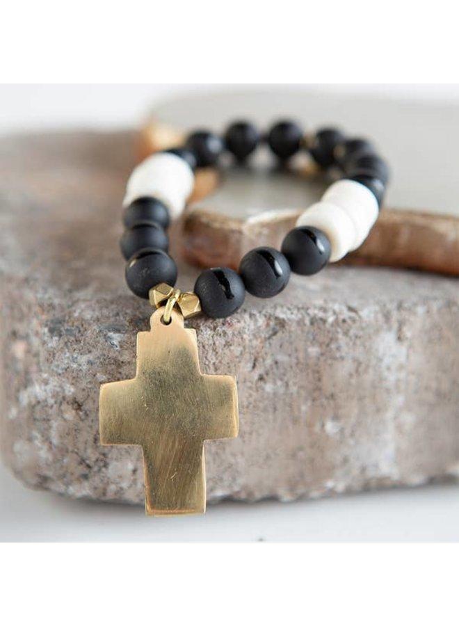 Harmony Stretch Bracelet - Cross