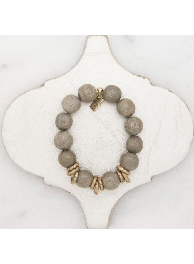 Golden Rings Stretch Bracelet
