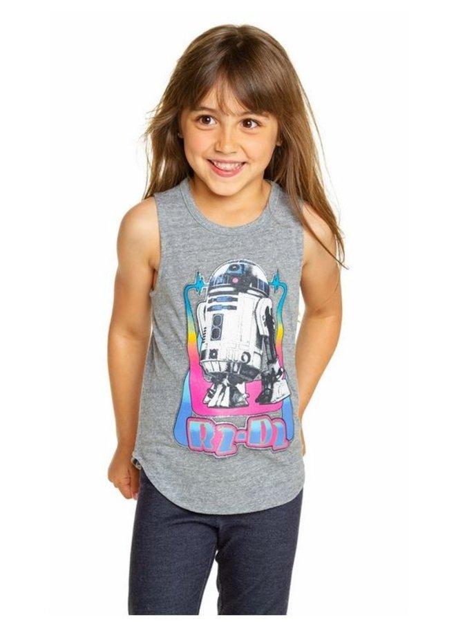 Girls R2D2 Tank