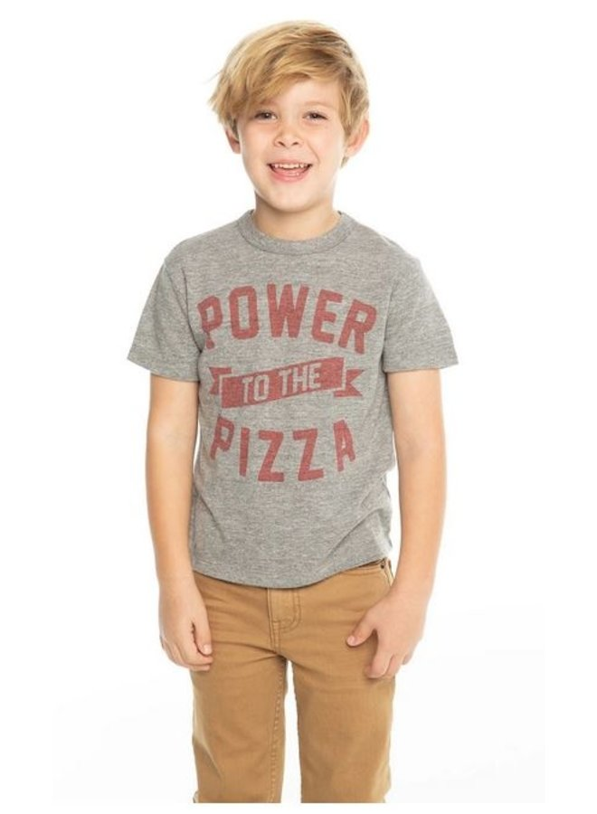 Power To The Pizza Tee