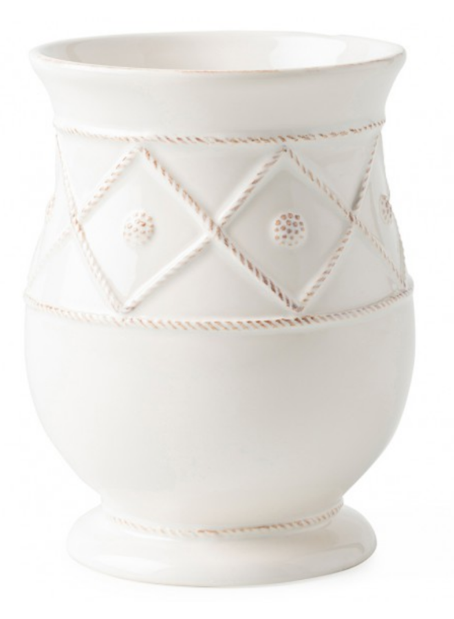 Berry & Thread Utensil Crock