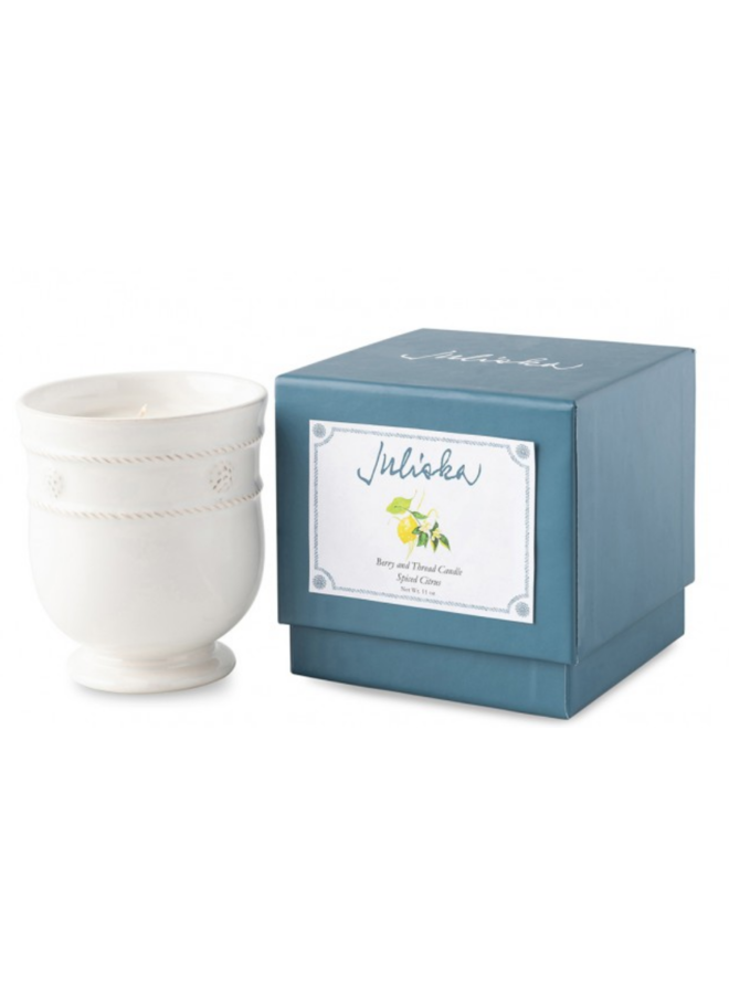 Berry & Thread Candle-Spiced Citrus