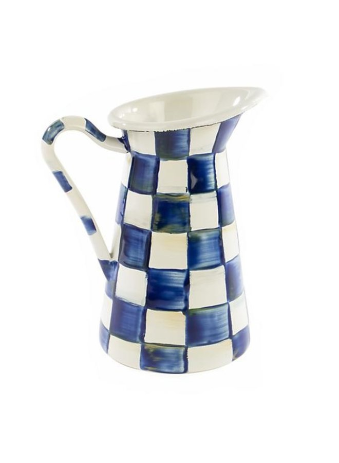 Royal Check Practical Pitcher-Small