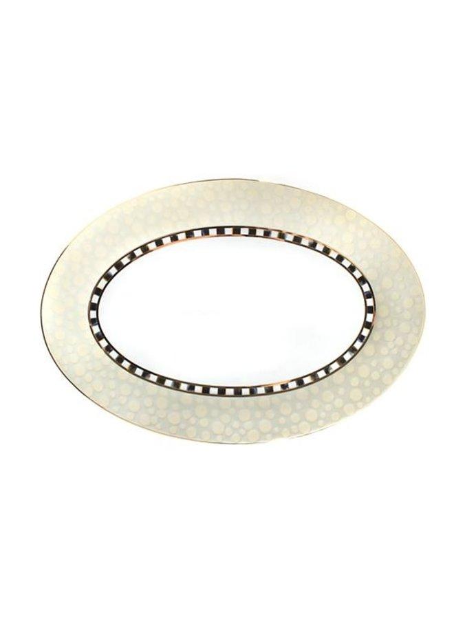 Soho Serving Platter-Mist