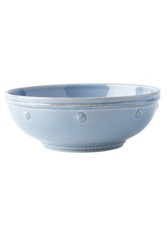 "Berry & Thread Chambray 7.75"" Coupe Pasta Bowl"