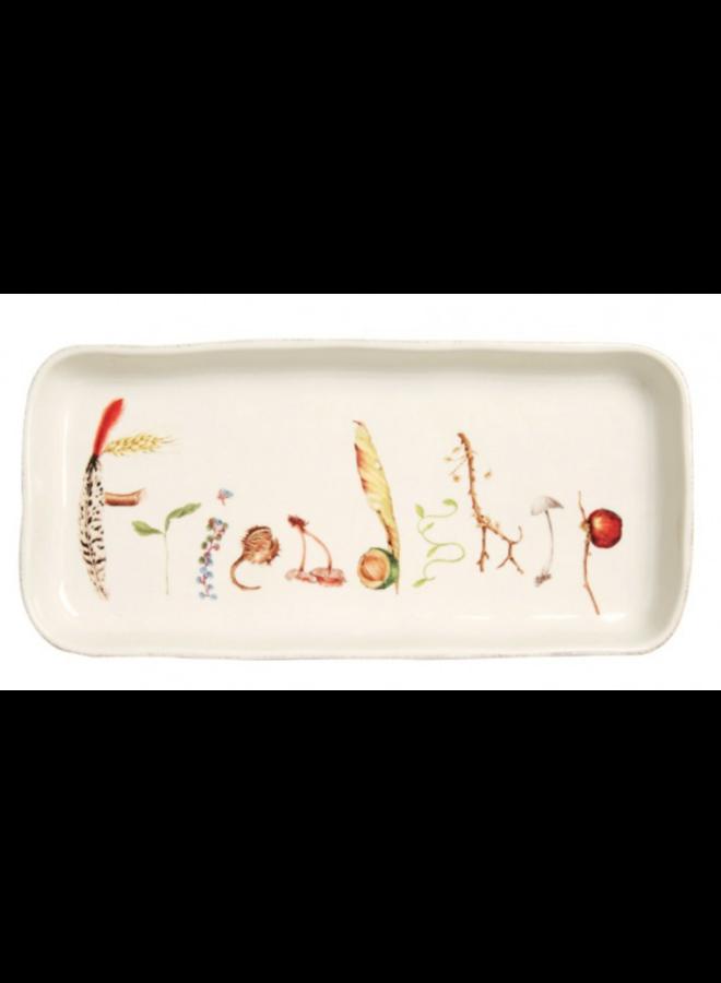 "Forest Walk 10.5"" Friendship Gift Tray"