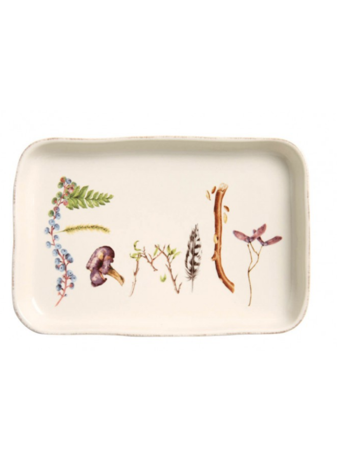 """Forest Walk 7.5"""" Family Gift Tray"""