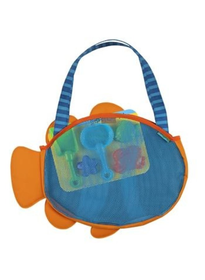 Beach Tote W/ Toys- Clown Fish