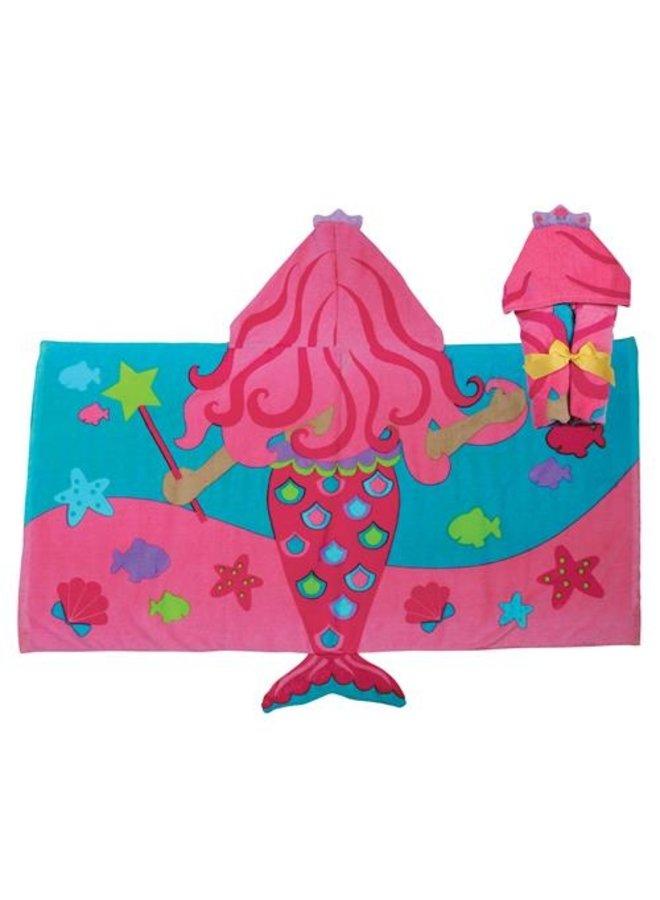 Hooded Towel - Mermaid