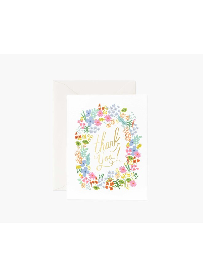 Boxed Set Of Prairie Thank You Cards