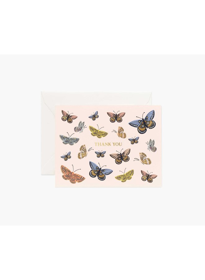 Boxed Set of Monarch Thank You Cards
