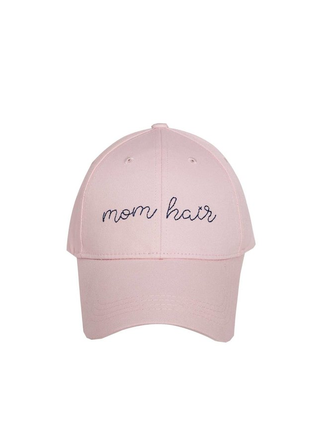 Mom Hair Embroidered Hat