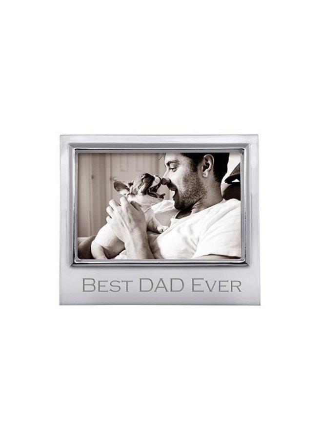 Best Dad Ever 4 x 6 Signature Frame