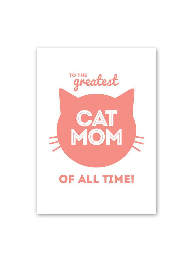 Cat Mom Card