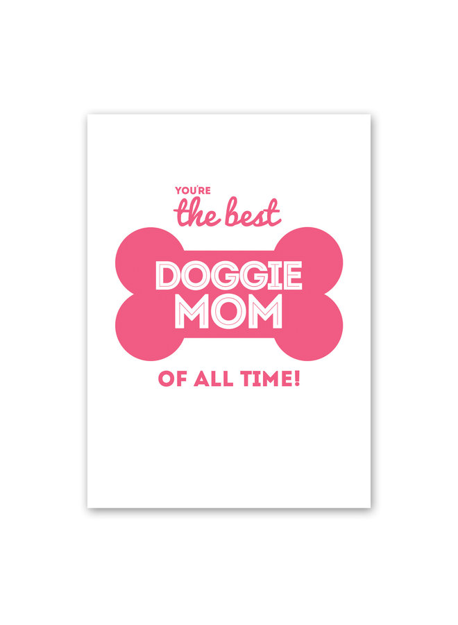Doggie Mom Card