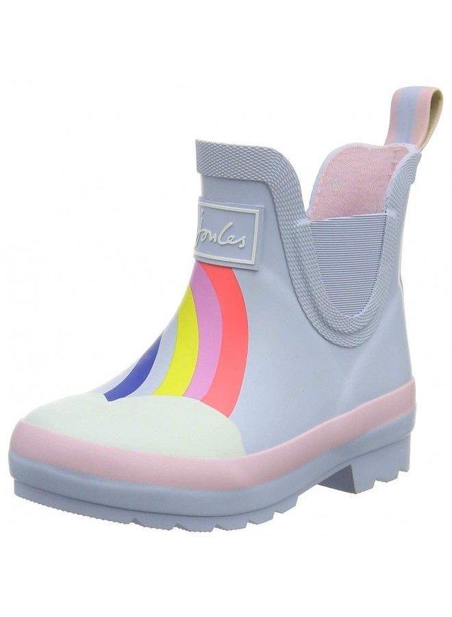 Blue Rainbow Rainboots