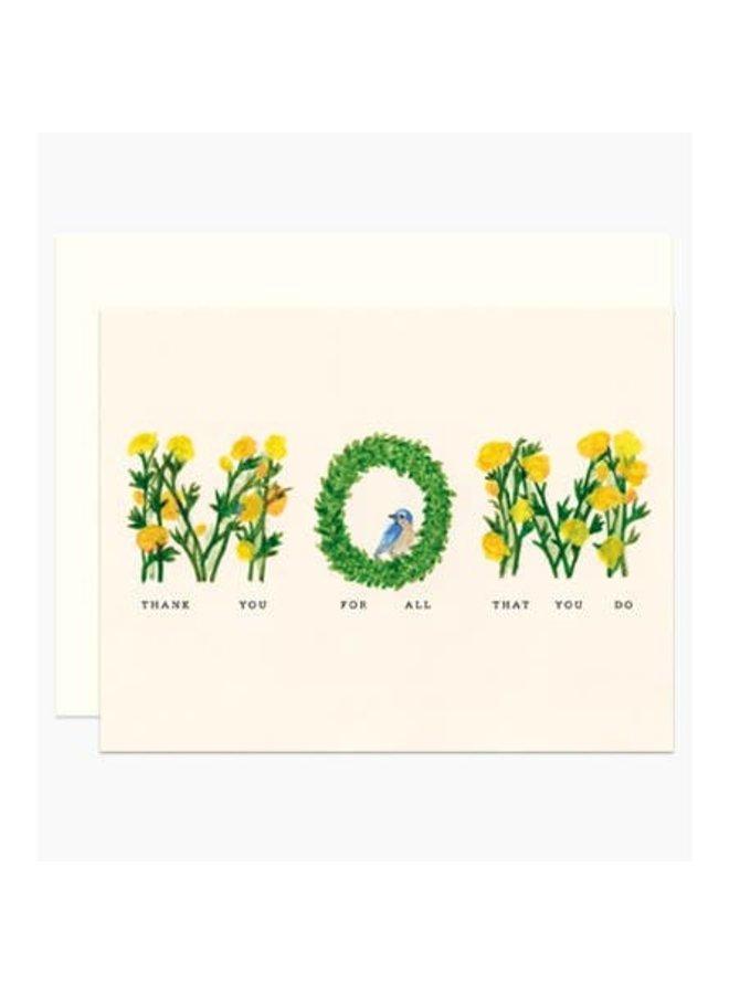 MOM Garden Card