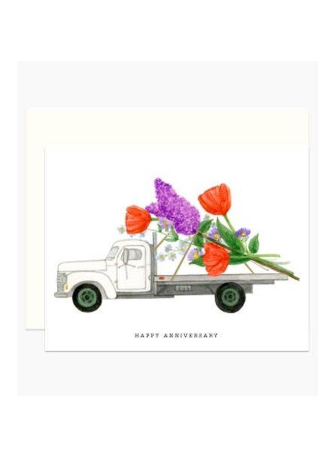 Anniversary Truck Card