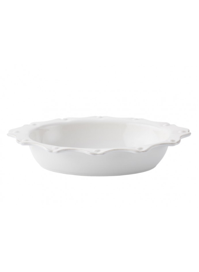 "Berry & Thread Whitewash 13"" Oval Baker"