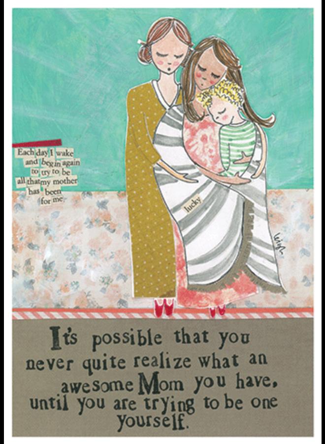 Awesome Mom Card