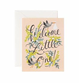 Rifle Paper Co. Welcome Little One Card