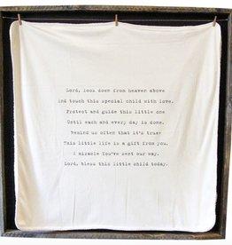 Sugarboo Designs Baby Blanket- Lord Look Down