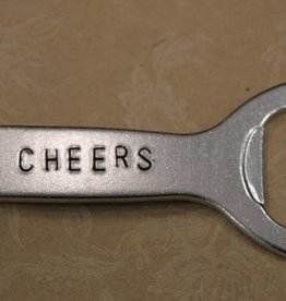 "Kimberly Monaco Designs ""Cheers"" Bottle Opener Keychain"