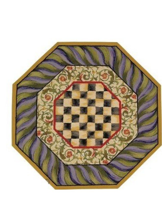 Octagon Courtly Check Rug